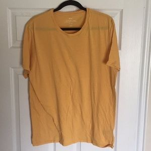 URBAN OUTFITTERS tshirt yellow lightweight XL